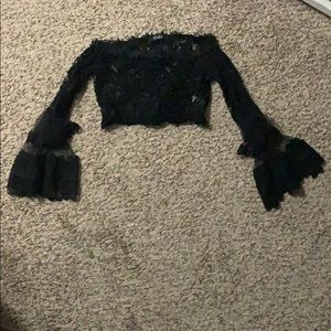 Akira Lace Crop Top